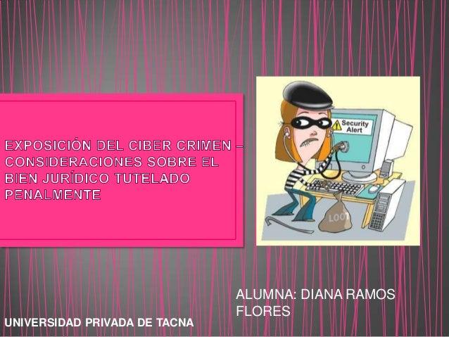 ALUMNA: DIANA RAMOSFLORESUNIVERSIDAD PRIVADA DE TACNA