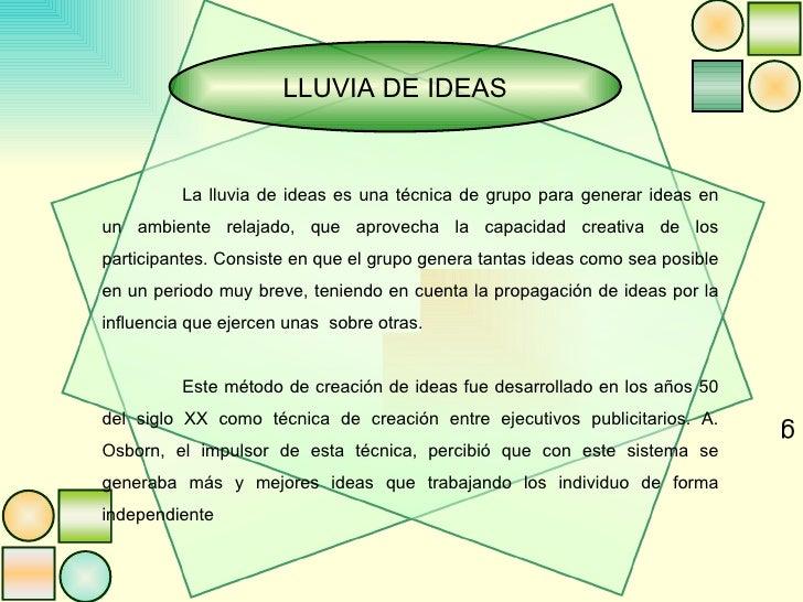 Exposici n de lluvia de ideas fin de semana - Ideas fin de semana ...