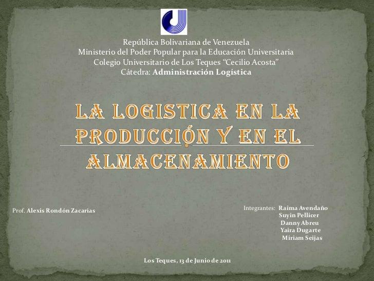 República Bolivariana de Venezuela<br />Ministerio del Poder Popular para la Educación Universitaria<br />Colegio Universi...