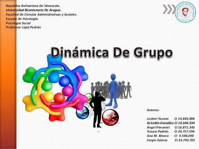 Autores: Lechmi Younes CI 14.683.898 Griselda González CI 14.104.334 Ángel Pimentel CI 16.871.343 Ysaura Padrón CI 24.717....