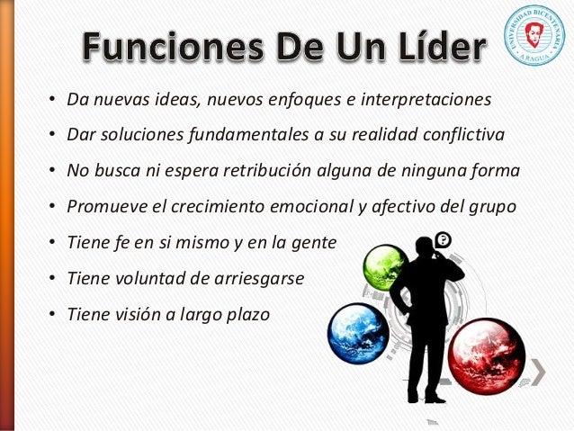 • Da nuevas ideas, nuevos enfoques e interpretaciones • Dar soluciones fundamentales a su realidad conflictiva • No busca ...