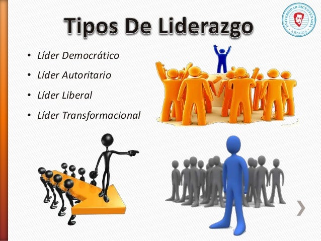 • Líder Democrático • Líder Autoritario • Líder Liberal • Líder Transformacional