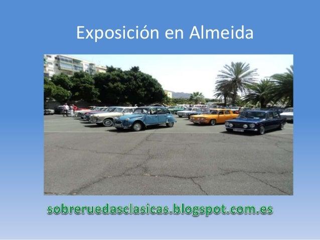 Exposición en Almeida