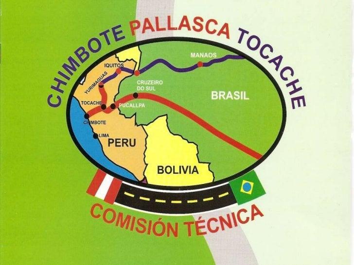 NUESTRO SALUDO CORDIAL        La Comisión Técnica Pro Construcción de la carretera Inter Oceánica: PERU –BRASIL, por la ru...