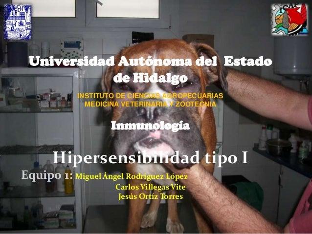 Universidad Autónoma del Estado            de Hidalgo            INSTITUTO DE CIENCIAS AGROPECUARIAS              MEDICINA...