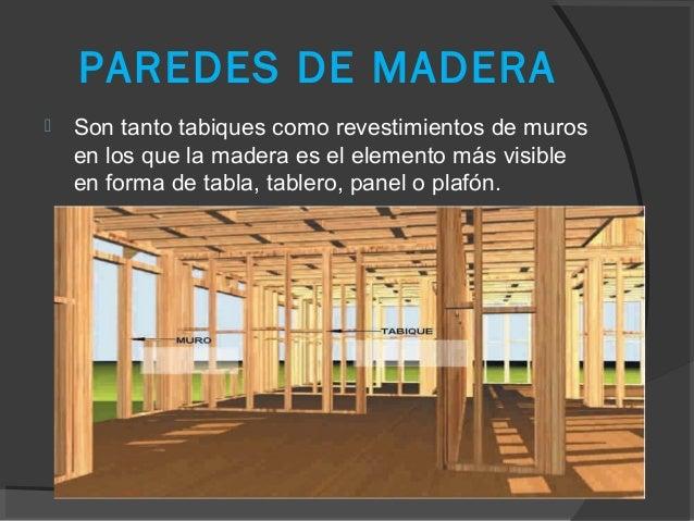 Diapositiva de la madera - Tabiques de madera ...