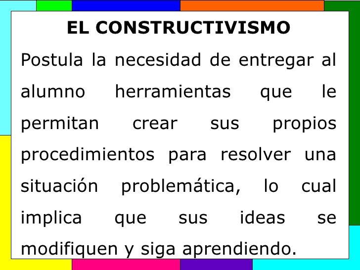 Exposición modelos constructivismo   copia Slide 3