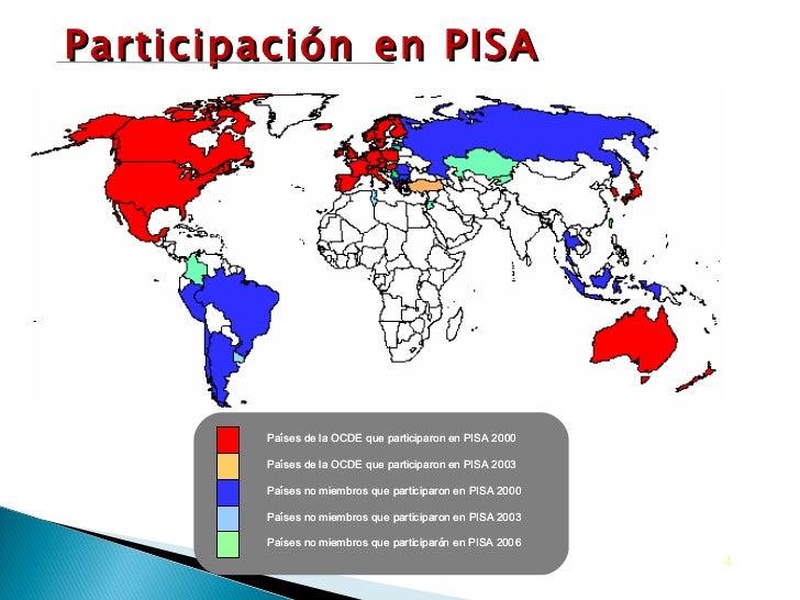 Participación   en PISA
