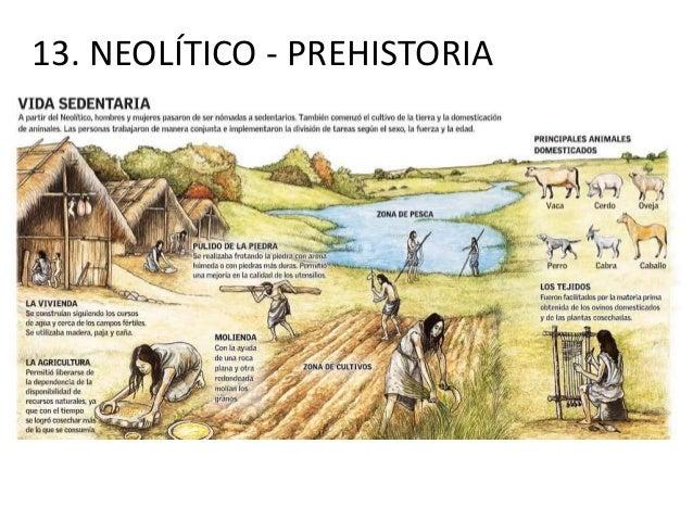 13. NEOLÍTICO - PREHISTORIA