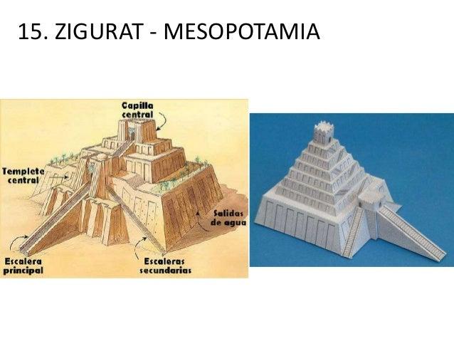 15. ZIGURAT - MESOPOTAMIA
