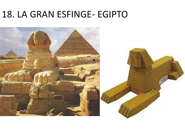 18. LA GRAN ESFINGE- EGIPTO