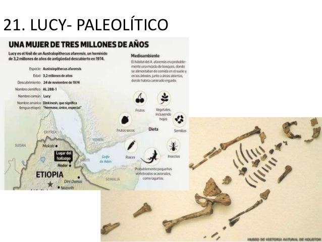 21. LUCY- PALEOLÍTICO
