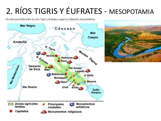 2. RÍOS TIGRIS Y ÉUFRATES - MESOPOTAMIA
