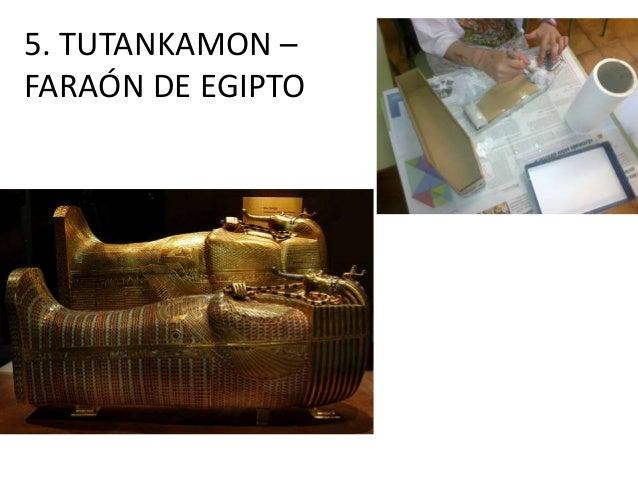 5. TUTANKAMON – FARAÓN DE EGIPTO