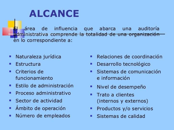 ALCANCE <ul><li>Naturaleza jurídica </li></ul><ul><li>Estructura </li></ul><ul><li>Criterios de funcionamiento </li></ul><...