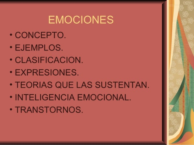 Exposicion Sobre Emociones