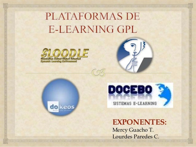 EXPONENTES:Mercy Guacho T.Lourdes Paredes C.
