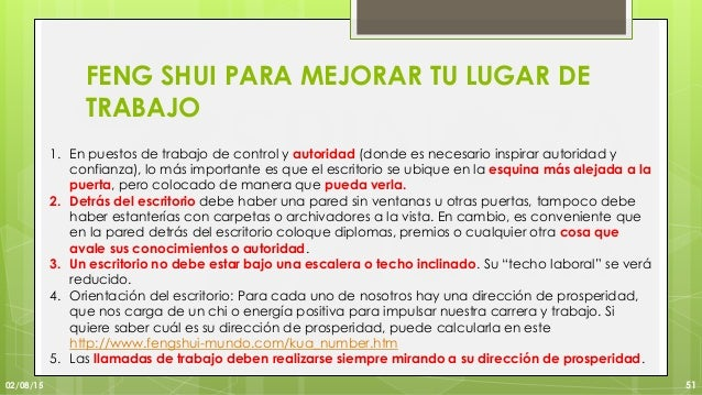 Feng Shui Una Herramienta Para La Adecuacion De La Infraestructura - Feng-shui-trabajo