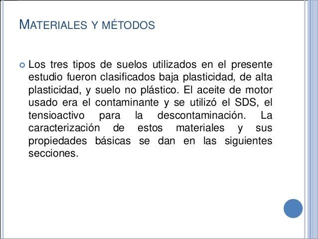 Exposicion contaminacion de suelos - Materiales para suelos ...