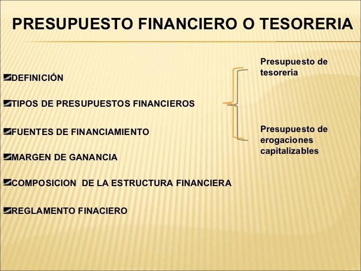 Exposicion Definitiva De Presupuesto