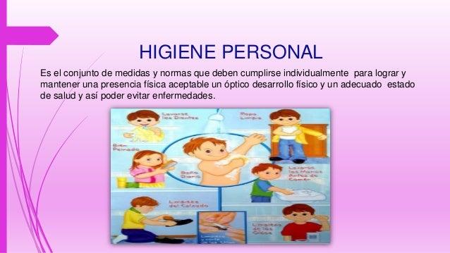 Exposicion de higiene for Normas de higiene personal en la cocina