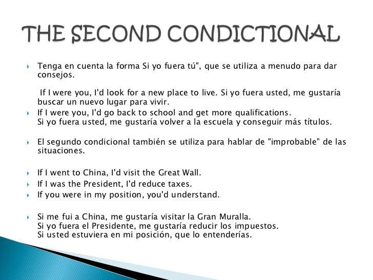 """   Tenga en cuenta la forma Si yo fuera tú"""", que se utiliza a menudo para dar    consejos.     If I were you, Id look for..."""