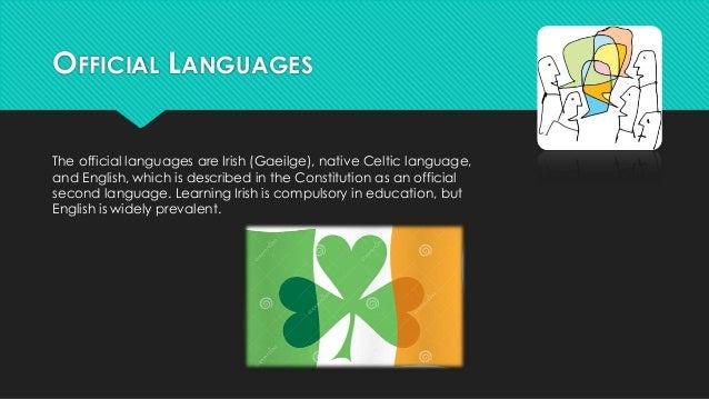 Irlanda (Vestuario, platillos típicos, cultura) En ingles.