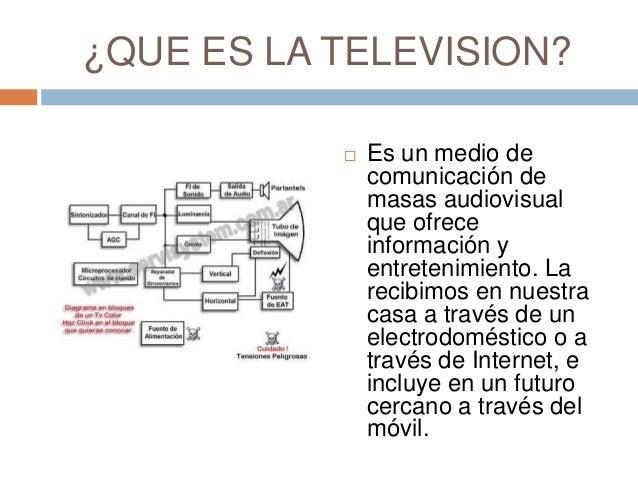 Exposicion de la television Felipe Garcia