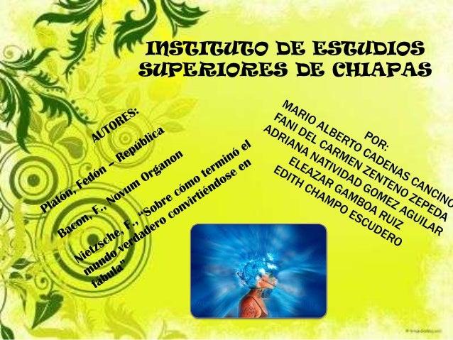 INSTITUTO DE ESTUDIOSSUPERIORES DE CHIAPAS