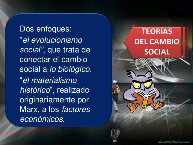 """Tipos de Teorías Evolucionistas """"Unilineales"""" (Darwinismo Social) """"Multilineales""""(Lenski y Lenski, 1982) ."""