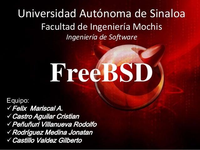Universidad Autónoma de Sinaloa          Facultad de Ingeniería Mochis                  Ingeniería de Software            ...
