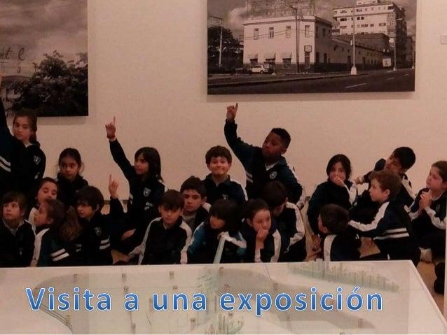 Visita a una exposición