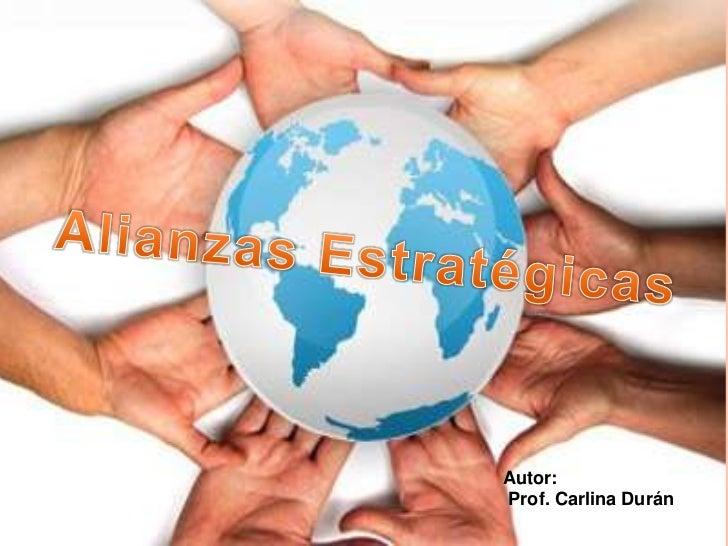 Autor:Prof. Carlina Durán