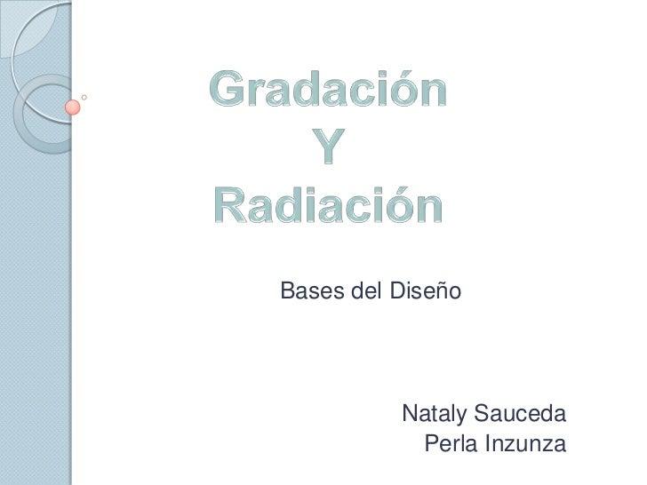 Exposicion gradacion radiacion
