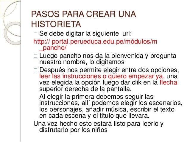 Pancho y la maquina de hacer cuentos for Pasos para realizar una exposicion