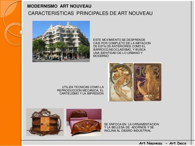 Art nouveau y art deco - Art deco caracteristicas ...