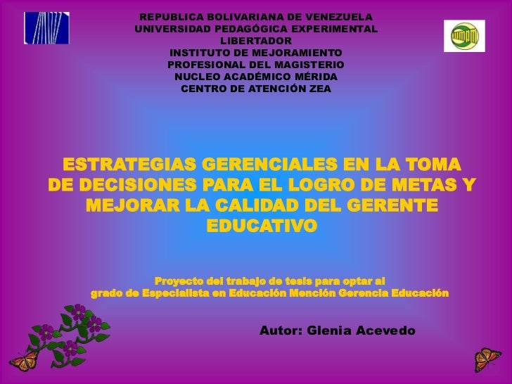REPUBLICA BOLIVARIANA DE VENEZUELA          UNIVERSIDAD PEDAGÓGICA EXPERIMENTAL                       LIBERTADOR          ...