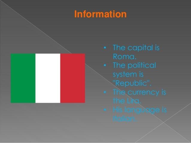 Exposicion italia en ingles Slide 3