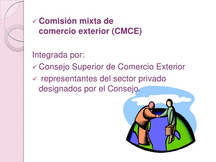 Exposicion marketing internacional for Consejo superior de comercio exterior
