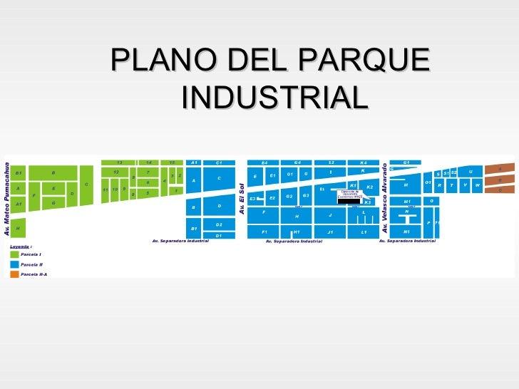 Experiencias Del Parque Industrial De Villa Salvador