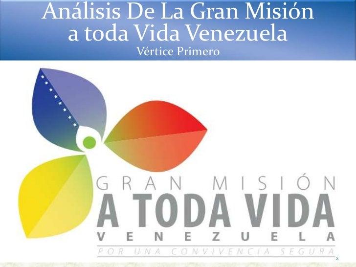 Exposicion mision a toda vida venezuela