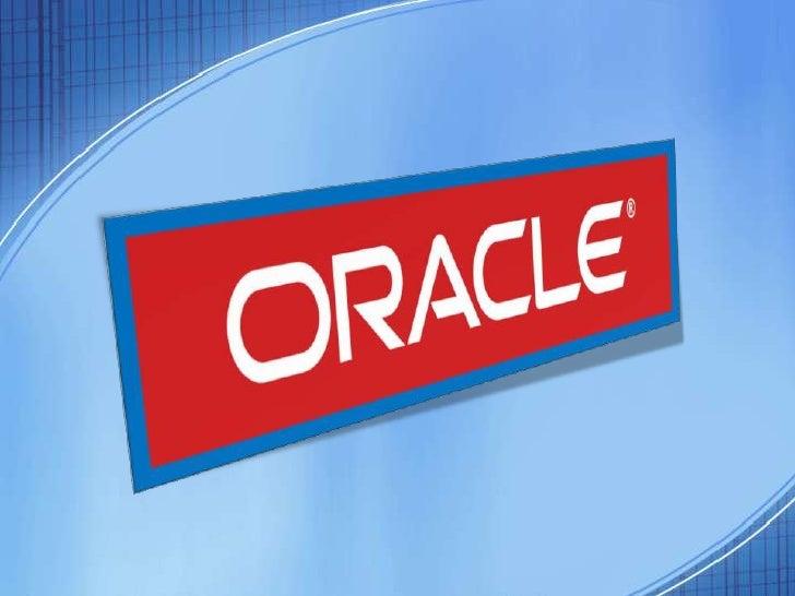Oracle surge a finales de los 70 bajo el nombre de Relational Software a partir de un estudio sobre SGBD de George Koch. L...
