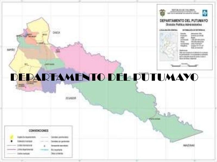 DEPARTAMENTO DEL PUTUMAYO<br />
