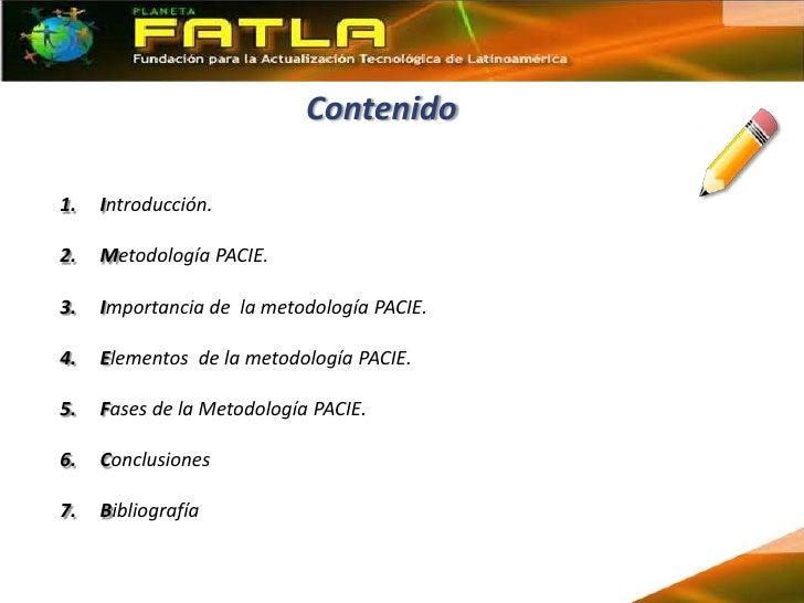 Exposición Profesional Metodología Pacie Slide 3