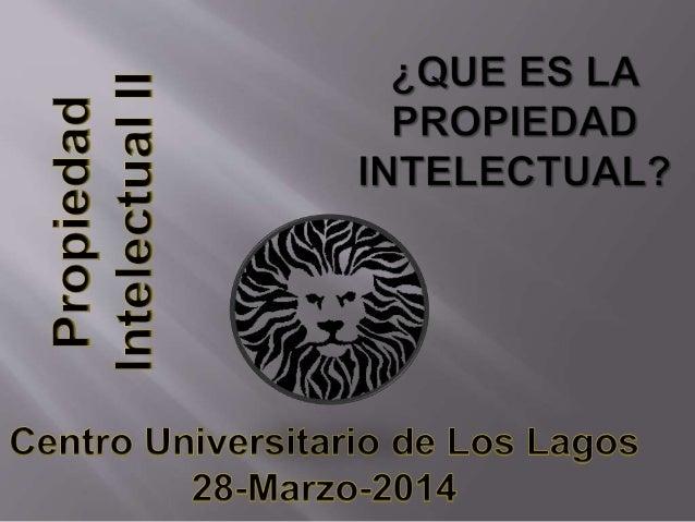 La propiedad intelectual se refiere a las creaciones de la mente: invenciones, obras literarias y artísticas, así como sím...