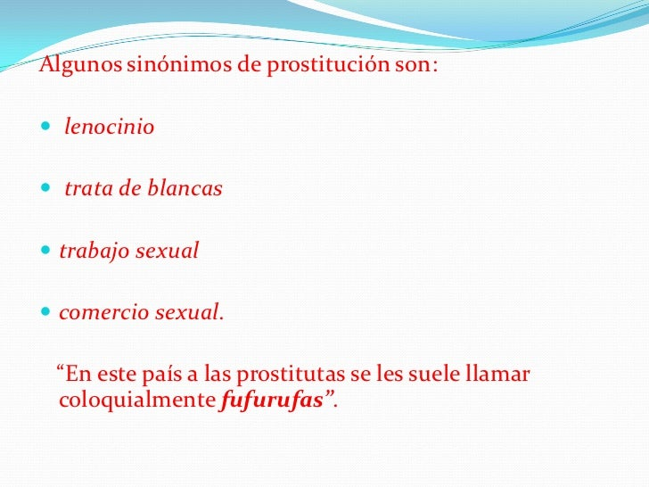 prostitutas venecia sinonimo trato