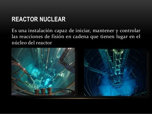 Resultado de imagen para REACTOR NUCLEAR