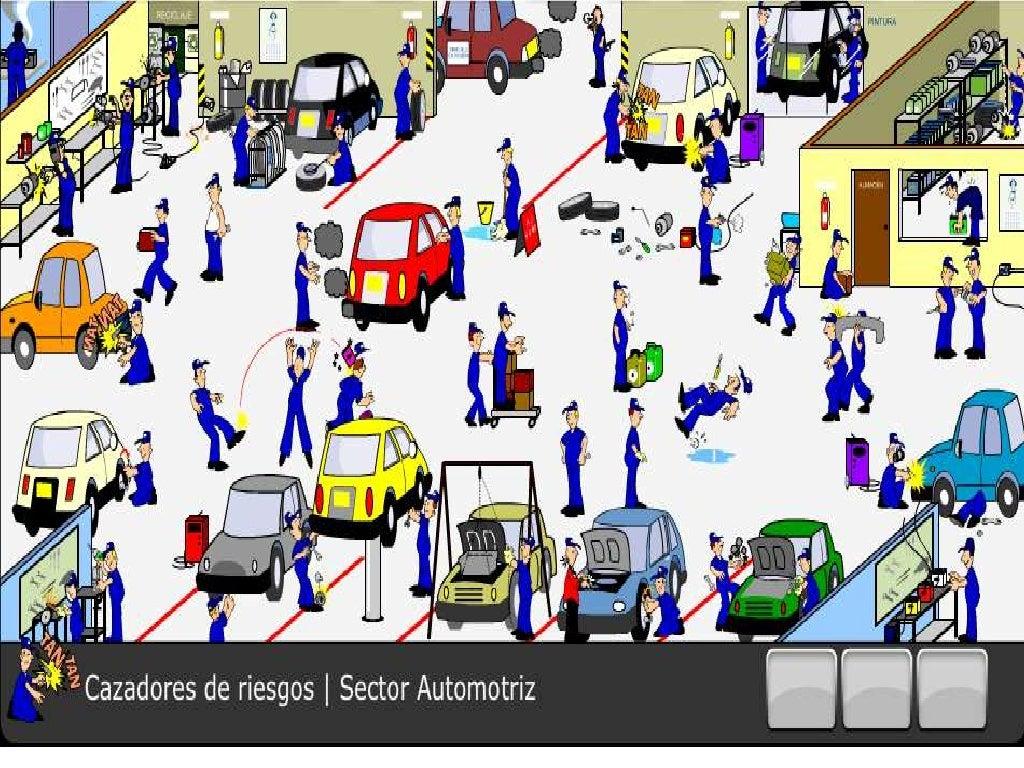 Exposicion riesgo mecanico 1 for Riesgos laborales en oficinas