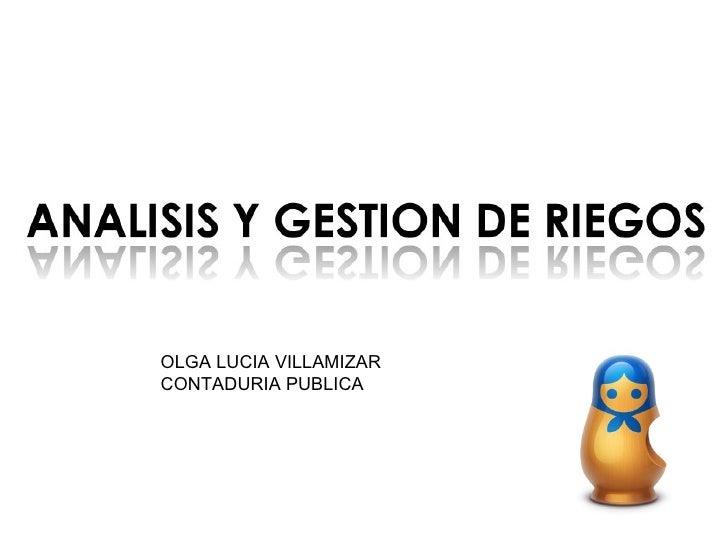 OLGA LUCIA VILLAMIZAR CONTADURIA PUBLICA