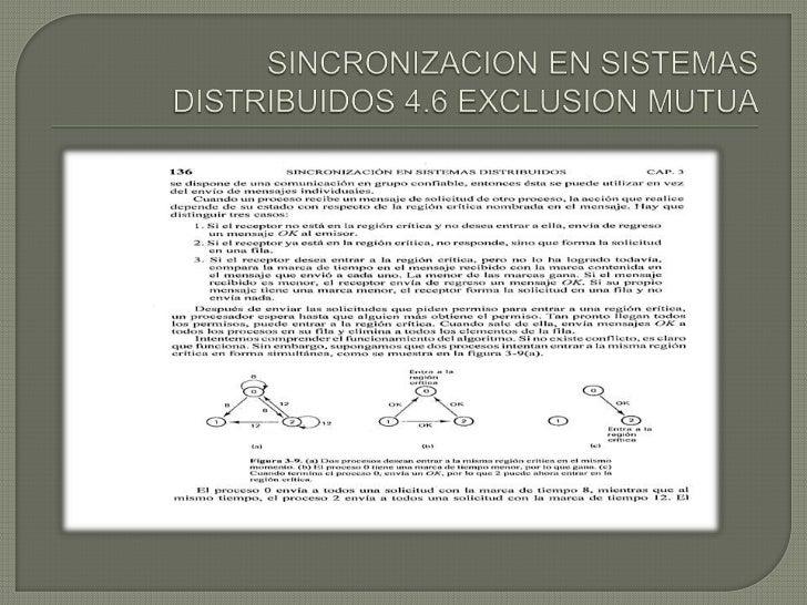 SINCONIZACION DE SISTEMAS DISTRIBUIDOS Slide 3